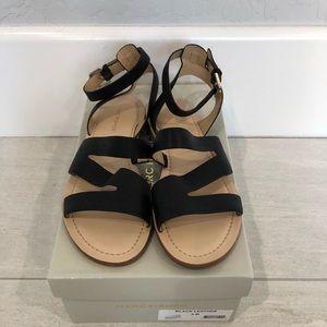 Marc Fisher black sandals